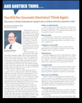 Cosmetic Dentistry Flossmoor Dentist Dr Charles Greenebaum