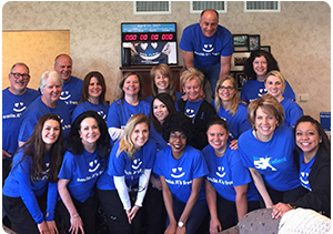 flossmoor il dentists team giving back