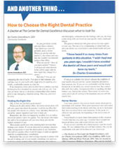 How To Choose The Right Flossmoor Dental Practice By Charles Greenebaum